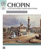Picture of 14 of His Easiest Piano Selections Chopin Book/CD