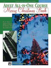 Picture of Alfred's Basic Adult All-in-One Course: Merry Christmas Book Level 1