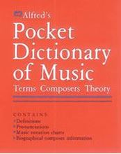 Picture of Alfred's Pocket Dictionary of Music