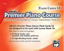 Picture of Premier Piano Course Flash Cards Level 1A