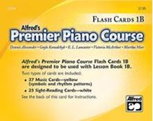 Picture of Premier Piano Course Flash Cards Level 1B
