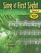 Picture of Sing at First Sight Level 2 Book/Cd