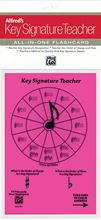 Picture of Alfreds Key Signature Teacher All in One Flashcard Pink