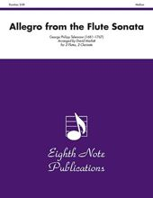 Picture of Allegro from the Flute Sonata 2 Flutes 2 Clarinets