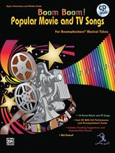 Picture of Boom Boom! Popular Movie and TV Songs Bk/CD