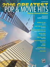Picture of 2016 Greatest Pop and Movie Hits Big Note Piano