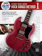 Picture of Alfreds Basic Guitar Rock Song Method 1 Book/OA/DVD