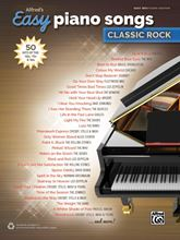 Picture of Alfreds Easy Piano Songs Classic Rock