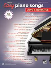 Picture of Alfreds Easy Piano Songs Love & Romance