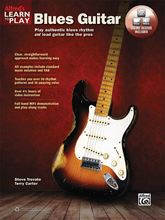 Picture of Alfreds Learn to Play Blues Guitar Book/OA