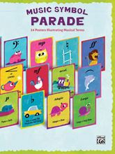 Picture of Music Symbol Parade Posters