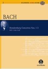Picture of Brandenburg Concertos 1-3 Study Score/CD