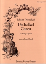 Picture of Pachelbel Canon in D String Quartet