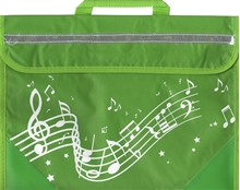 Picture of Musicwear Wavy Stave Music Bag Green
