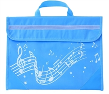Picture of Musicwear Wavy Stave Music Bag Light Blue