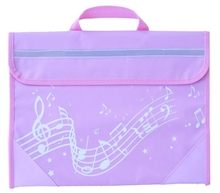 Picture of Musicwear Wavy Stave Music Bag Pink