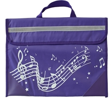 Picture of Musicwear Wavy Stave Music Bag Purple