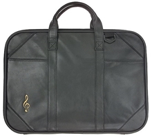 Picture of BRIEFCASE MUSIC TREBLE CLEF LEATHER