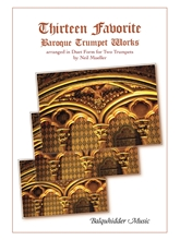 Picture of Thirteen Favorite Baroque Trumpet Works - Duets