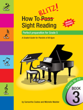 Picture of How to Blitz Sight Reading Book 3 - Grade 5