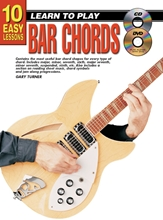 Picture of 10 Easy Lessons Learn To Play Bar Chords Bk/CD/DVD