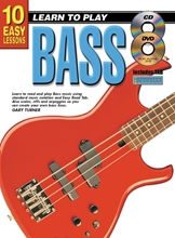 Picture of 10 Easy Lessons Learn To Play Bass Bk/CD/DVD/Chart