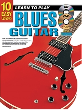 Picture of 10 Easy Lessons Learn To Play Blues Guitar Bk/CD/DVD