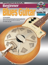 Picture of Progressive Beginner Blues Guitar Bk/CD
