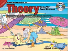 Picture of Progressive Theory For Young Beginners Bk/CD