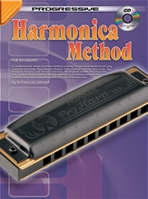 Picture of Progressive Harmonica Method Bk/CD