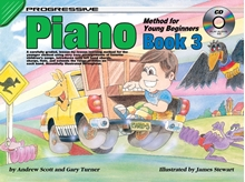 Picture of Progressive Piano Method For Young Beginners Book 3 Bk/CD