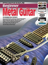 Picture of Progressive Beginner Metal Guitar Licks Bk/CD/DVD