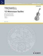 Picture of 12 Morceaux Faciles Op 4 Cello/Piano