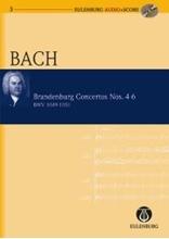 Picture of Brandenburg Concertos 4-6 Study Score/CD