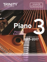 Picture of Trinity Piano Exam Pieces & Exercises 2015-17 Grade 3 Bk/Cd