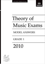 Picture of ABRSM Music Theory Model Answers 2010 Grade 1