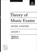 Picture of ABRSM Music Theory Model Answers 2011 Grade 3