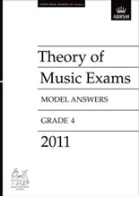 Picture of ABRSM Music Theory Model Answers 2011 Grade 4