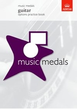 Picture of Music Medals Options Practice Book Guitar