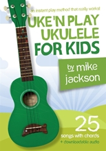 Picture of Uke N Play Ukulele for Kids Book/Audio Download