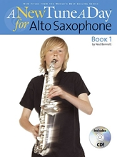Picture of A New Tune a Day Alto Sax Book 1 Book/CD