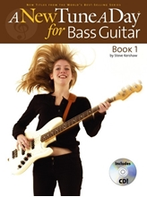 Picture of A New Tune a Day Bass Guitar Book 1 Book/CD