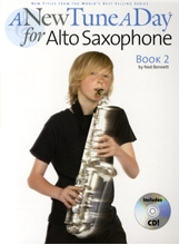 Picture of A New Tune a Day Alto Sax Book 2 Book/CD