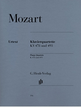 Picture of Piano Quartets K 478 und 493