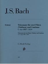 Picture of Trio Sonata BWV 1039 for Two Violins and Continuo
