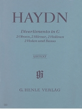 Picture of Divertimento in G major Hob II:9