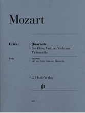 Picture of Flute Quartets for Flute Violin Viola and Cello