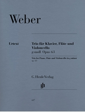 Picture of Trio in G minor Op 63 for Piano Flute and Cello