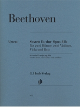 Picture of Sextet in Eb major Op 81b