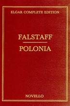 Picture of Elgar: Falstaff/Polonia Full Score Vol 33 Cloth Bound Complete